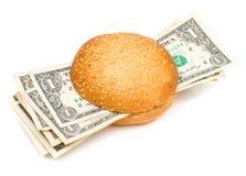 Moneyburger Royalty Free Stock Photo
