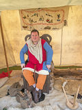Moneyer bij Fort George Royalty-vrije Stock Foto