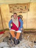 Moneyer przy fortem George Zdjęcie Royalty Free