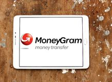 MoneyGram company logo stock photos