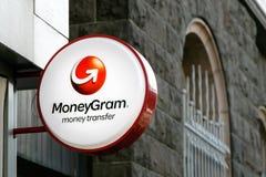 MoneyGram-Zeichen Stockfotografie
