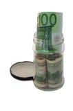 Moneyjar Stock Afbeeldingen
