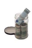 Moneyjar Stock Foto's