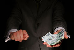 moneyless Image libre de droits