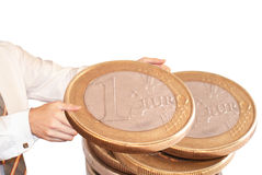 Moneymaking Stock Image