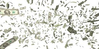 Moneyrain Royalty Free Stock Images
