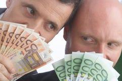 Moneytalks Royalty Free Stock Photography
