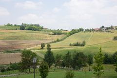 Monferrato - Italy Stock Photo