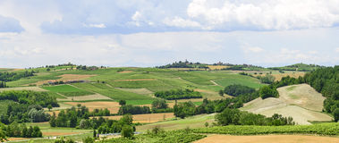 Monferrato (Italy) Stock Photo