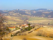 Monferrato landscape Stock Photos