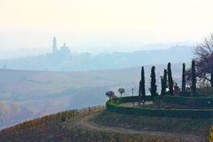 Monferrato landscape Stock Image