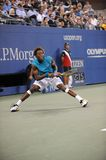 Monfils Gael at US Open 2009 (49) Stock Photography