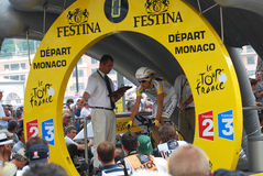 Monfort Maxime - Tour de France 2009 Immagine Stock