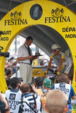 Monfort Máximo - Tour de France 2009 Imagen de archivo libre de regalías
