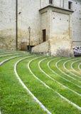Monforte d'Alba: the village church. Color image Stock Images