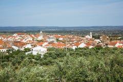 Monforte da贝拉,布朗库堡区,贝拉Baixa省,葡萄牙 免版税图库摄影