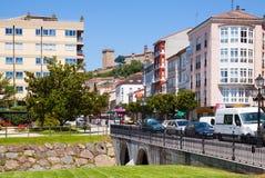 Monforte de Lemos in summer day. Galicia Stock Photos