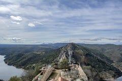 Monfrague,卡塞里斯西班牙国立公园  库存图片