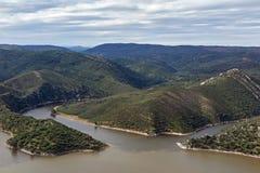 Monfrague nationalpark Arkivfoton