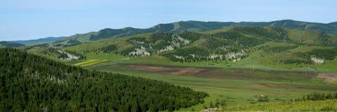Mongólia do norte Foto de Stock Royalty Free