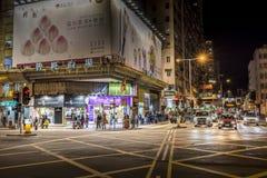 Mong Kok, Гонконг Стоковое Изображение