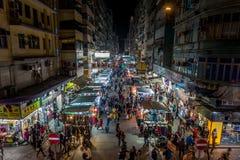 Mong Kok, Гонконг Стоковые Фото