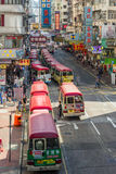 Mong Kok district in Hong Kong Royalty Free Stock Photo