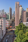 Mong Kok district in Hong Kong Stock Photos