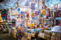Mong Kok, Hong Kong - September 24, 2016 : Ladie's market - Popu Stock Photography