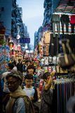 Mong Kok street market hong kong Stock Photo