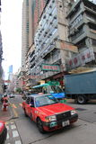 Mong Kok street view in Hong Kong Stock Images
