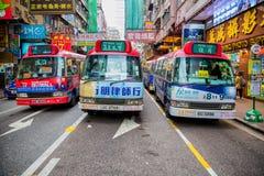 Mong Kok transportation Royalty Free Stock Images
