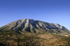 Mongó Montgo mountain Mediterranean coast Stock Photo