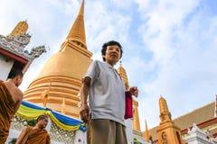 monge buddha das mulheres Fotografia de Stock Royalty Free