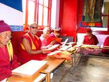 Monge budista Foto de Stock Royalty Free