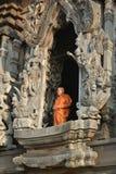 Monge budista Imagens de Stock Royalty Free
