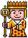 Monge chinesa Imagem de Stock Royalty Free