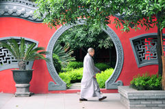 Monge chinesa China Fotos de Stock Royalty Free