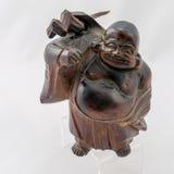 Monge chinesa de madeira Fotos de Stock