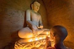 Monge de Myanmar Foto de Stock