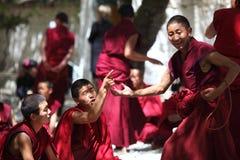 Monge de Tibet imagens de stock