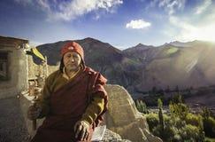 Monge do monastério de Lamayaru Imagens de Stock