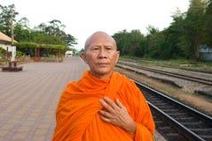 Monge em Tailândia Fotografia de Stock