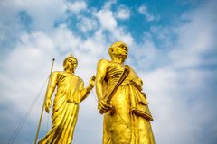 Monge grande Khoon Statue Foto de Stock