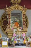 Monge mumificada, Koh Samui Foto de Stock Royalty Free