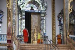 Monge tailandesa Blessing fotos de stock royalty free