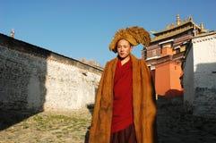 Monge tibetana Foto de Stock Royalty Free