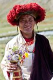 Monge tibetana Fotos de Stock