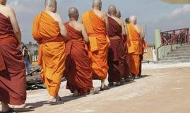 Monges budistas Fotos de Stock Royalty Free
