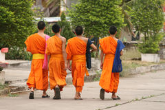 Monges budistas Imagem de Stock Royalty Free